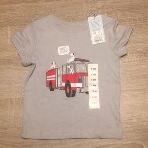 Cat & Jack boys Fire Truck T-Shirt